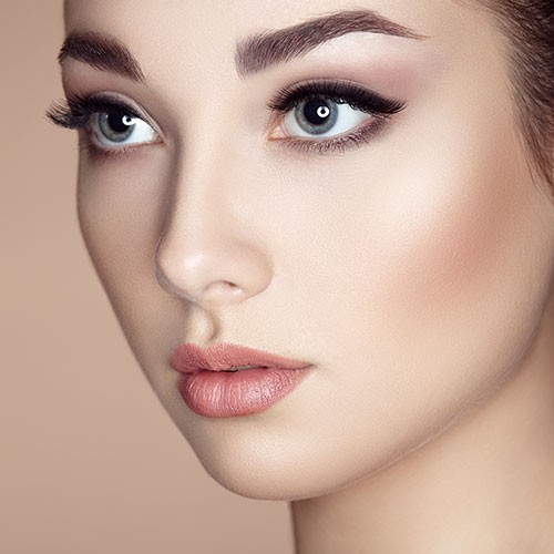makeup application brassfield's salon